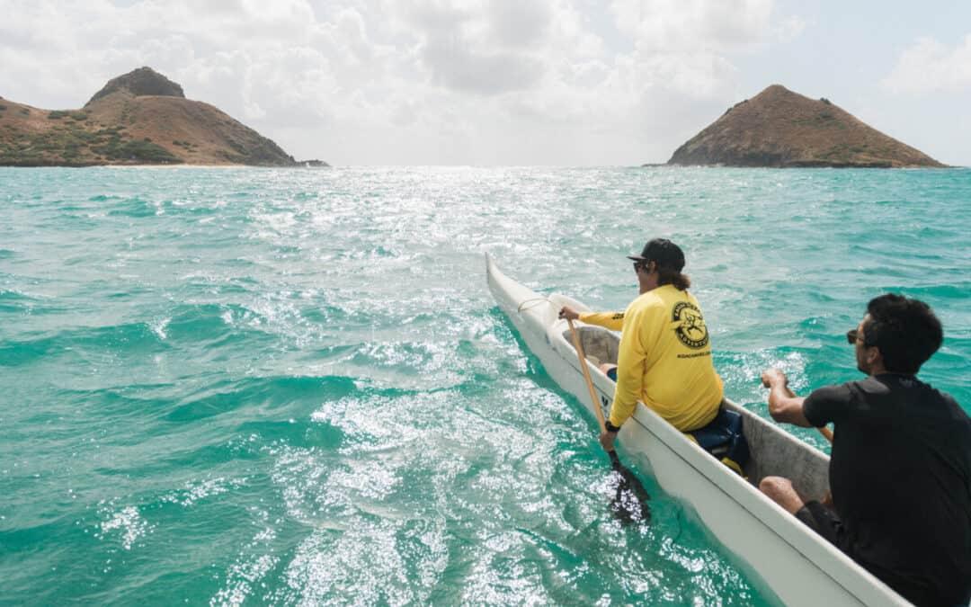Hawaiian Outrigger Canoe Adventure