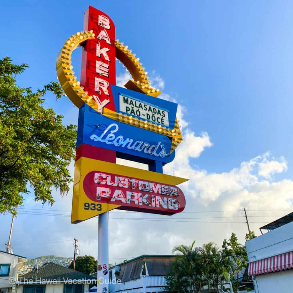 Honolulu Food Tour Leonards Malasadas