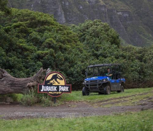 Jurassic Park UTV Ride Kualoa Ranch