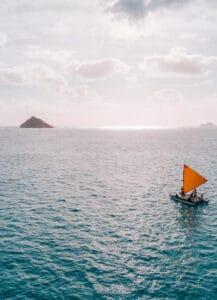 Kailua Ocean Adventure Canoe Sailing Tour Oahu-2