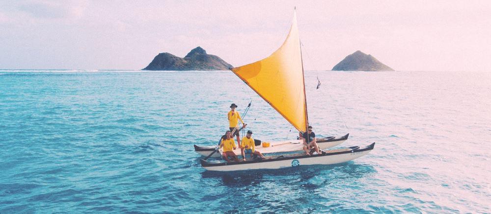 Hawaiian Sailing Canoe Tour