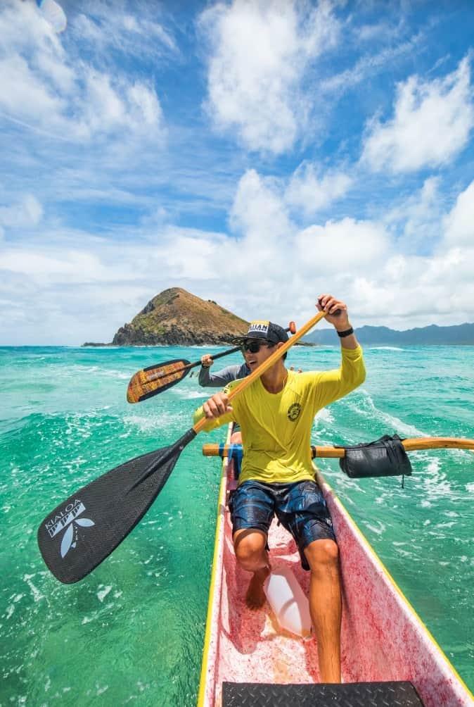 Kailua Ocean Adventure Outrigger Canoe Tour