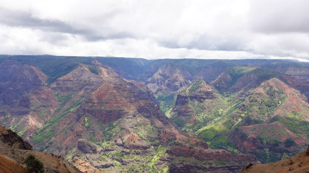 Kauai Honeymoon Itinerary Waimea Canyon