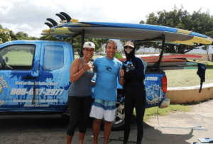 North Shore Surf Girls Surf Lessons Private and group