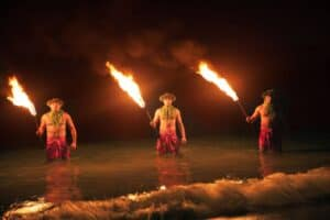 Oahu luau Polynesian cultural center tour