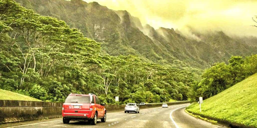 Private Oahu Guided Tour Pali Cliffs