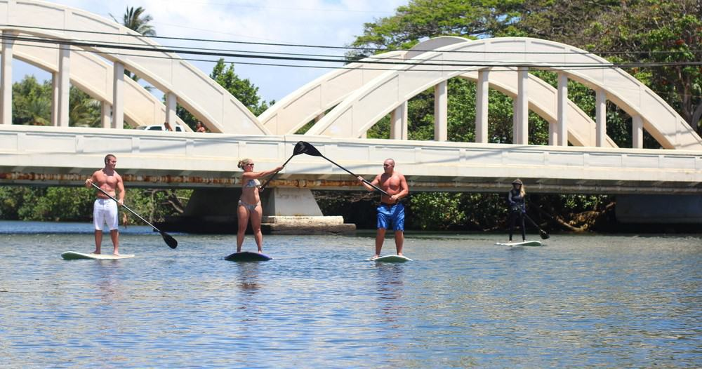 Standup Paddleboard (SUP) Lessons on North Shore Oahu