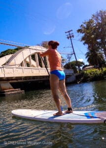 SUP Lessons Oahu North Shore Surf Girls