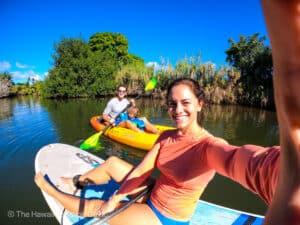 Standup Paddeboard lessons Haleiwa Hawaii
