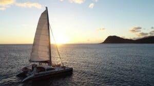 Sunset Sail Tour Ko Olina Ocean Adventure Oahu
