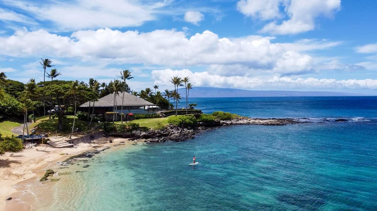 which Hawaiian island has the best beaches Kapalua