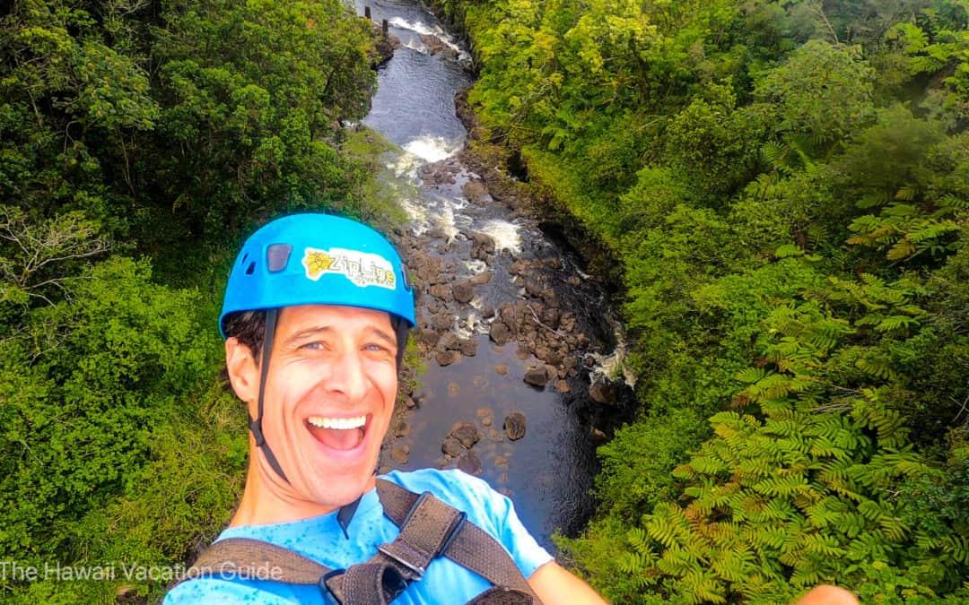 Best Hawaii Zipline Adventure on the Hilo Side: Umauma Falls Experience