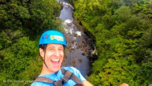Best HIlo hawaii zipline Umauma Falls zipline course