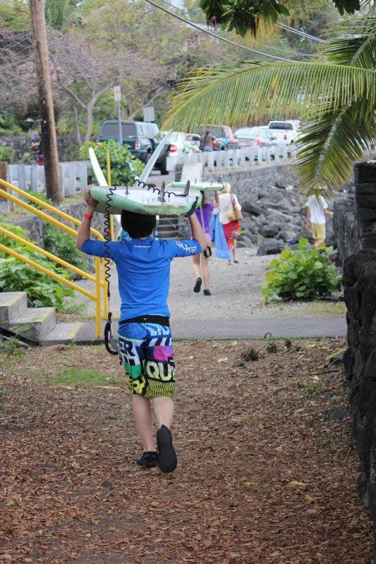 Big Island Group Surf Lesson