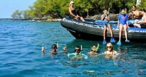 Captain Cook Monument Snorkeling Tour Captain Zodiac Rafts