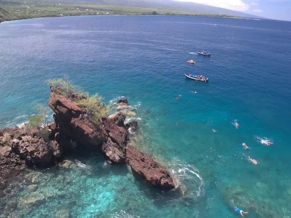 Hawaii's Best Snorkeling Spot with Captain Zodiac Snorkeling Tour