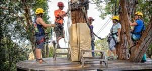 Kohala Zipline Zip and Dip zipline tour