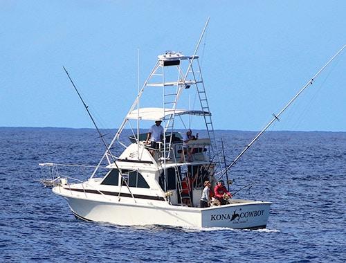 Kona Cowboy Sport Fishing Charter Boat Bertram