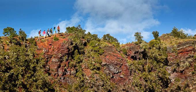 Hidden Craters Hike: A Tour on the Big Island's Hualalai Volcano Above Kailua-Kona