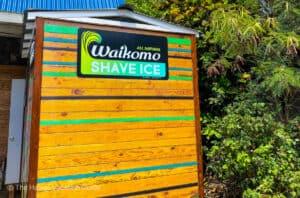 Best shave ice Kauai Waikomo