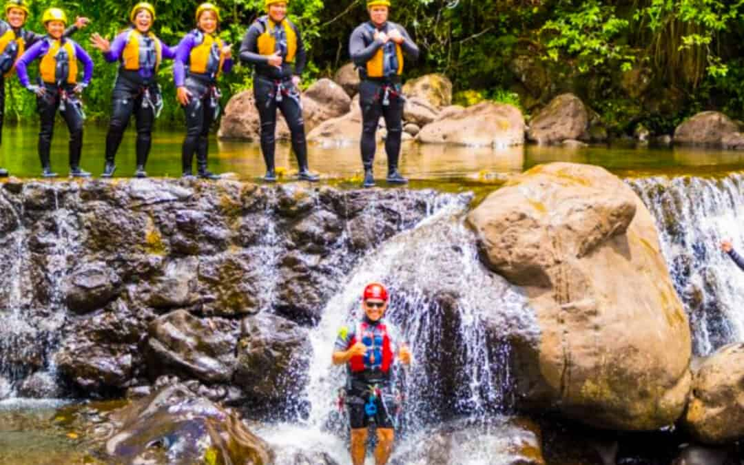 Only in Hawaii: Umauma Waterfall Rappel and River Experience