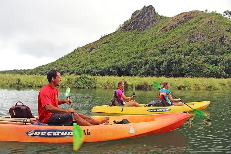 Wailua River Kayak and Hike to Secret Falls