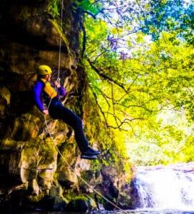 umauam falls rappel adventure tour